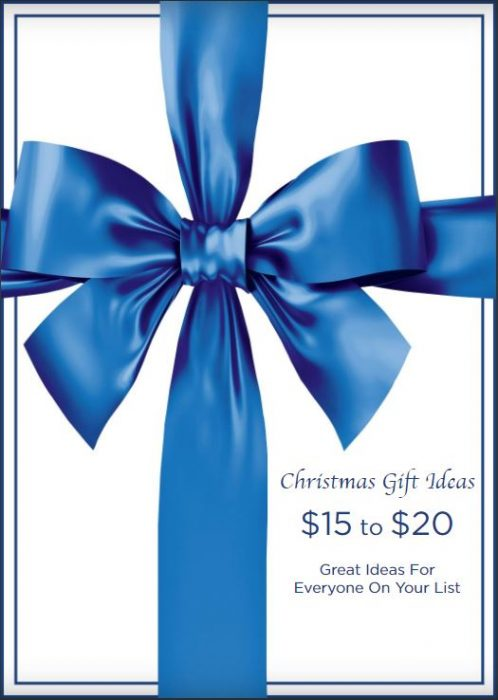 Christmas Gift Ideas $15 to $20