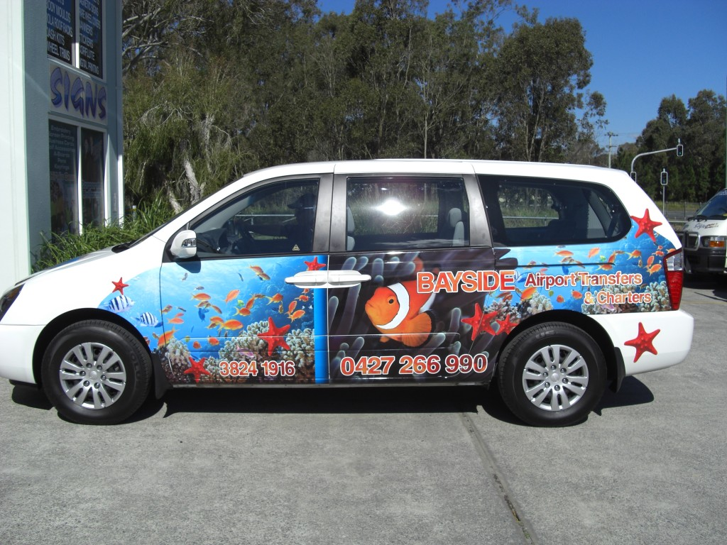 Bayside Airport Transfers side2