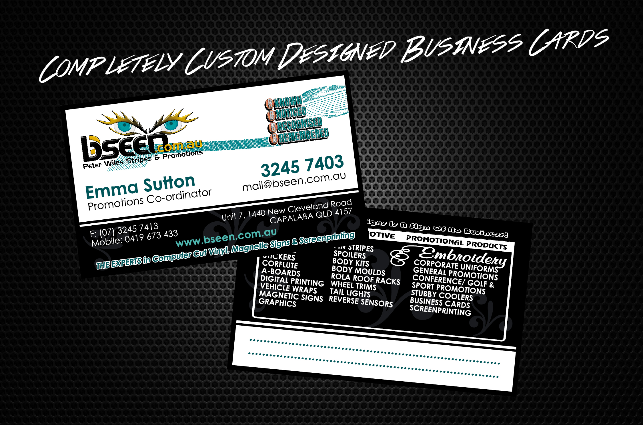 Business cards 01 01 your one stop shop for any business colourmoves